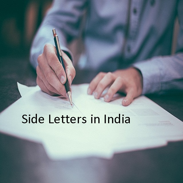 Side Letters Validity India