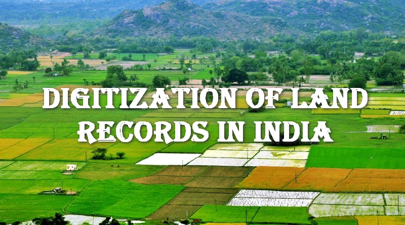 Digitization of Land Records and Impact on Disputes in India