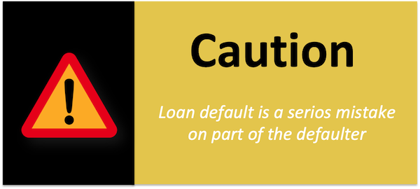 How to retrieve property lost due to default in payment of loans